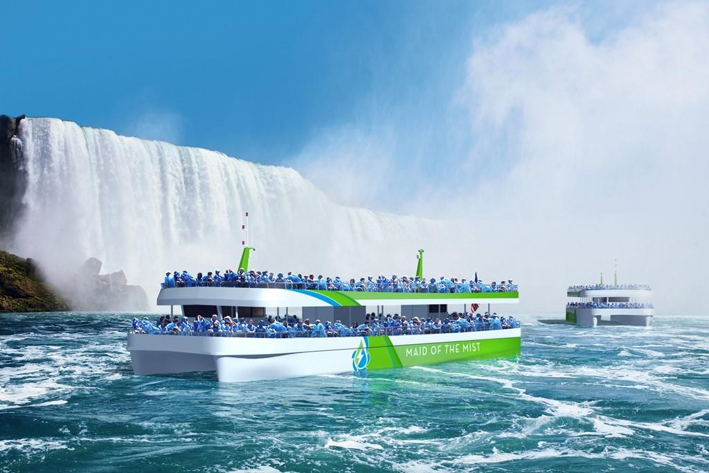 İlk elektrikli yolcu gemileri hizmete giriyor