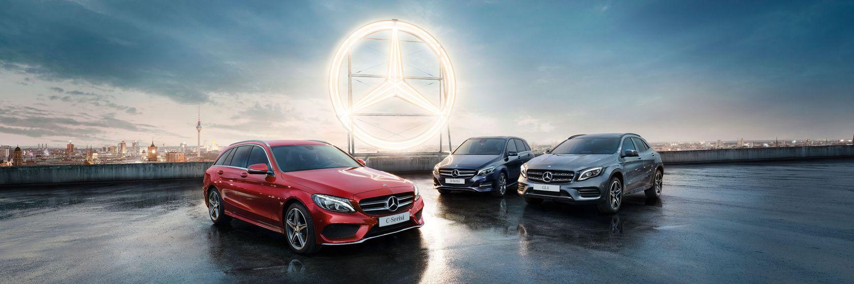 Mercedes'ten oto ve hafif ticariye özel ekim fırsatları