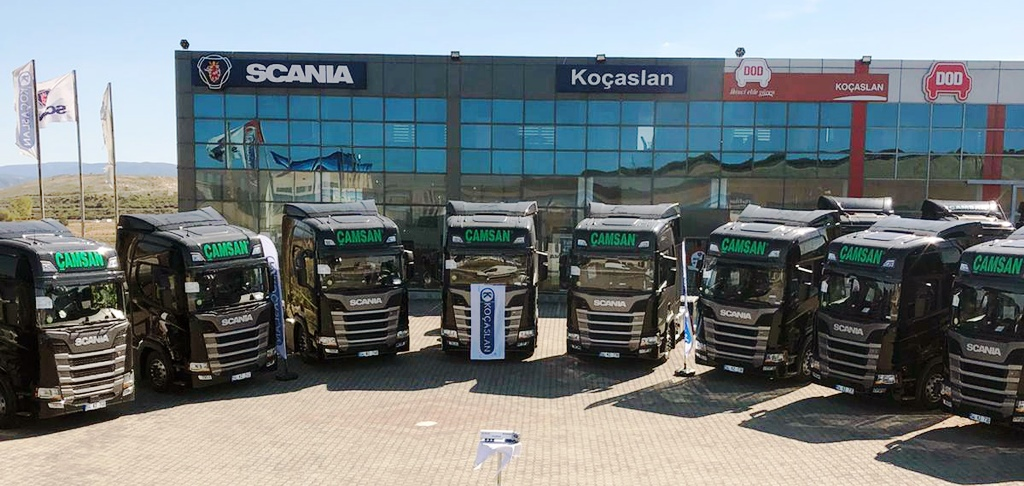 Çamsan Nakliyat, yoluna Scania ile devam ediyor