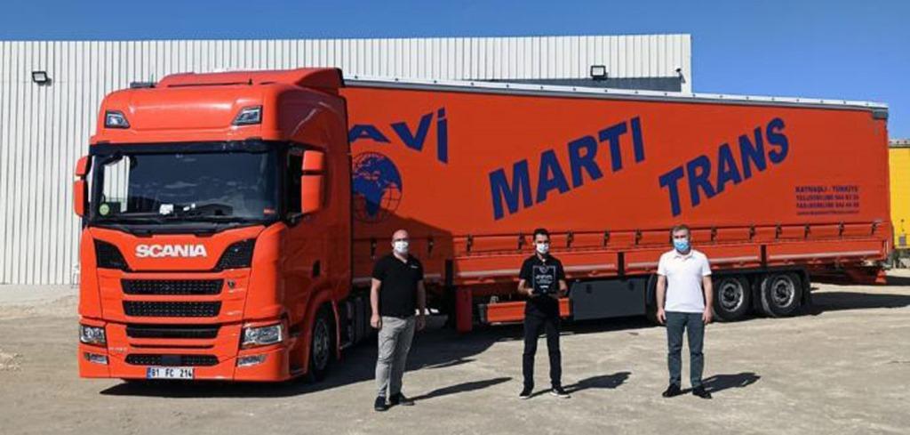 Mavi Martı Trans, Scania'dan 10 adet R450 4x2 EB aldı