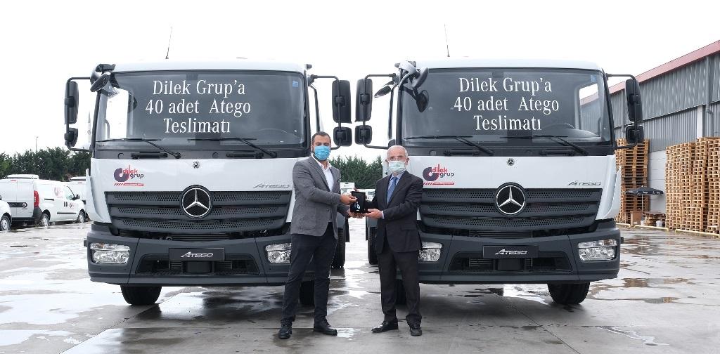 Dilek Grup, 40 adet Mercedes Atego aldı