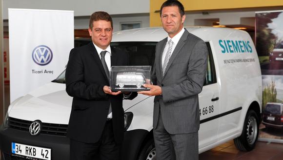 Bosch–Siemens Caddy ve Transporter'ı tercih etti