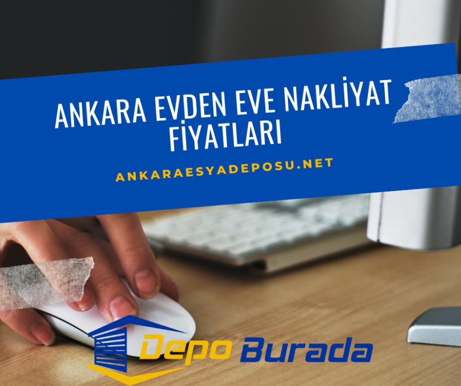 Ankara En Uygun Evden Eve Nakliyat Fiyatları