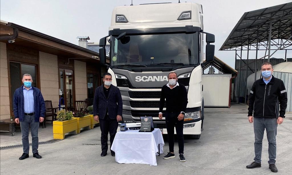 AYK, filosuna 20 Scania çekici daha kattı
