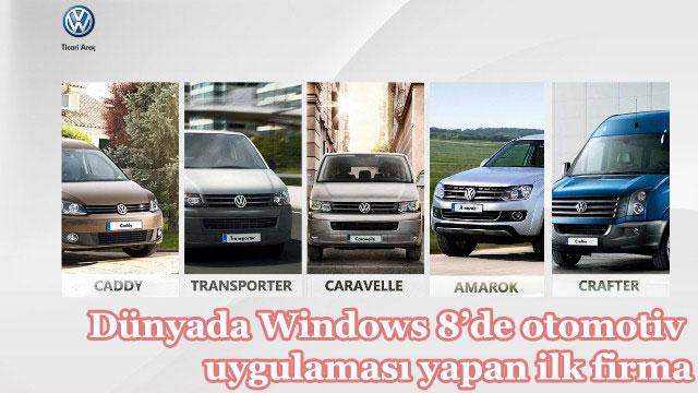 Volkswagen Ticari araçlardan bir ilk daha!