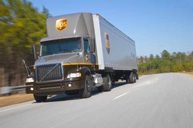 Olimpiyatların malzemeleri UPS'ten gitti