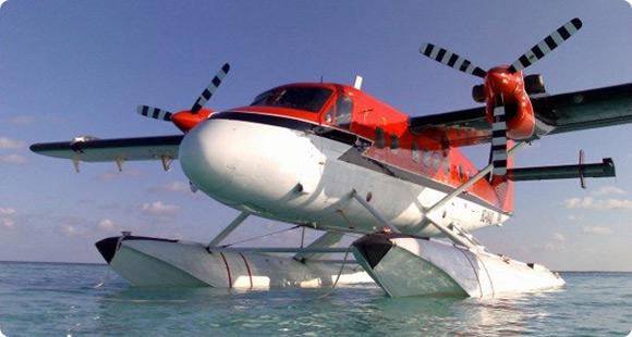 Deniz uçağı ilk seferini gerçekleştirdi