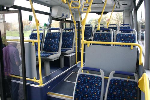 İşte otobüslerde oturduğumuz koltuklar