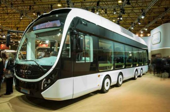 Parisli işe hibridli ve CNG'li Iveco Bus'larla gidecek