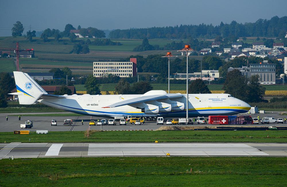 İşte dünyanın en büyük uçağı