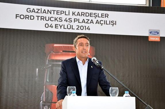 Ford Trucks en büyük bayisini İstanbul'da hizmete açtı