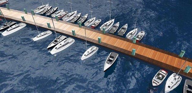 İstanbul Boğazı'na 4 'tekne park' geliyor