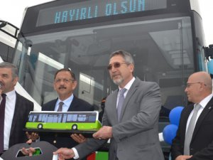 Kayseri kentiçi ulaşımına 30 CNG'li Temsa Avenue
