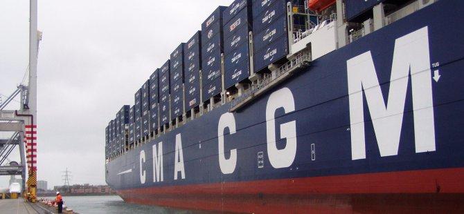 CMA CGM denizcilik firmasından yeni bir servis!