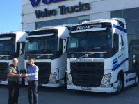 Tosun Nakliyat çiçeklerini artık Volvo Trucks ile taşıyacak