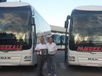 Pamukkale Turizm İzmir'e 2 MAN Lion's Coach 2+1 VIP