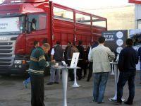 Scania'nın kırkayağı zmirli nakliyecilerle buluştu
