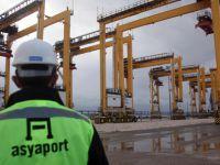 Dünyanın 12. büyük konteyner gemisi Asyaport'ta
