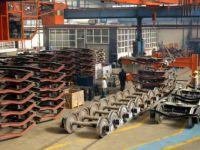 Konteyner taşıma vagonlarının seri üretimi başladı