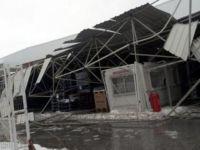 Depolarınızın çatılarını kar yağışına hazırlayın!
