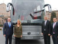 Mercedes, Euro 6'lı Tourismo 2+1 ile çıtayı yükletiyor