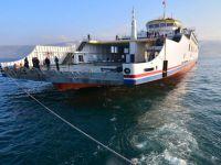Türkiye'nin en büyük feribotu deneme seferinde