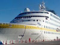 Antalya'da kruvaziyer sezonu M/S Hamburg ile kapandı