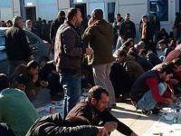 7 bin TIR ve kamyon Habur'da mahsur kaldı