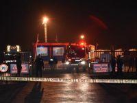 Harem Limanı'nda patlama ve TIR'da yangın