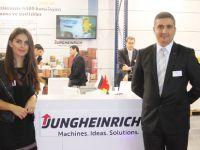 Jungheinrich, dizel ve LPG'li forkliftlerle zirveye oynuyor