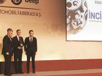 İnci GS Yuasa'ya Tofaş'tan performans ödülü