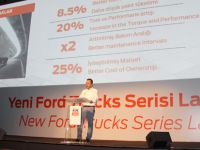 Euro 6'lı Ford Trucks serisi % 8,5 yakıt tasarrufu sağlıyor