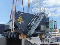 2 adet Mobil Harbore Crane daha Safiport Derince'de