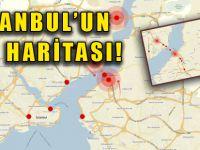 İşte İstanbul trafiğini işkence haline getiren noktalar!
