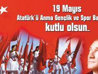 19 Mayıs Atatürk'ü Anma-Gençlik ve Spor Bayramı kutlu olsun