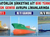 3 Türk bayraklı gemi, Avrupa limanlarında alıkonuldu