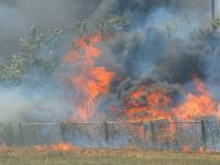 TCDD'nin Lojistik Müdürlüğü yanıyordu