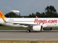 Pegasus'un ilk A320neo'su Sabiha Gökçen'e indi