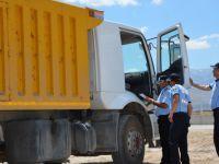 Hafriyat kamyonları uydudan takip edilecek