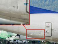 SAS uçağına catering aracı çarptı
