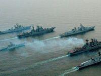 Rus donanması Akdeniz'e indi!