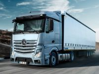 Mercedes- Benz kamyonları Türkiye'yi dolaştı