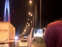 Vatandaşlar köprüye akın etti
