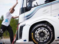 Goodyear'in lastiği Volvo'ya hız rekoru getirdi