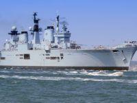 İngiliz savaş gemisi Aliağa'da sökülecek