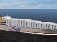 Matson'dan 511 milyon dolarlık 2 Con-Ro siparişi