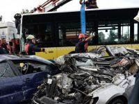 İşte metrobüs kazasına neden olan tartışma