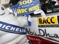 MICHELIN'in 300. zaferi, WRC İspanya'da geldi