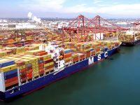 Hanjin'in Long Beach'teki hisselerine MSC talip