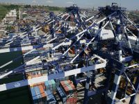 Marport'ta elleçlenen konteyner uzunluğu dünyayı 3 kez turluyor
